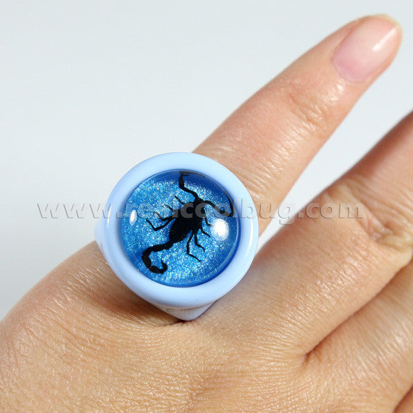 R0031<br/>Black Scorpion Ring