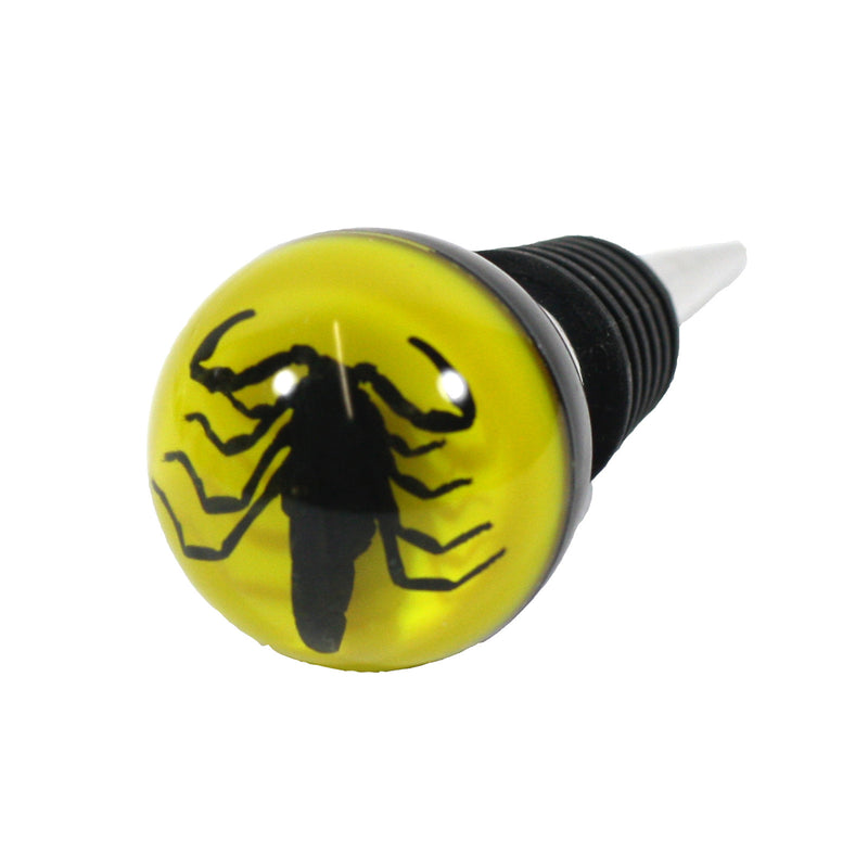 WS1402<br/>Black Scorpion Wine Stopper