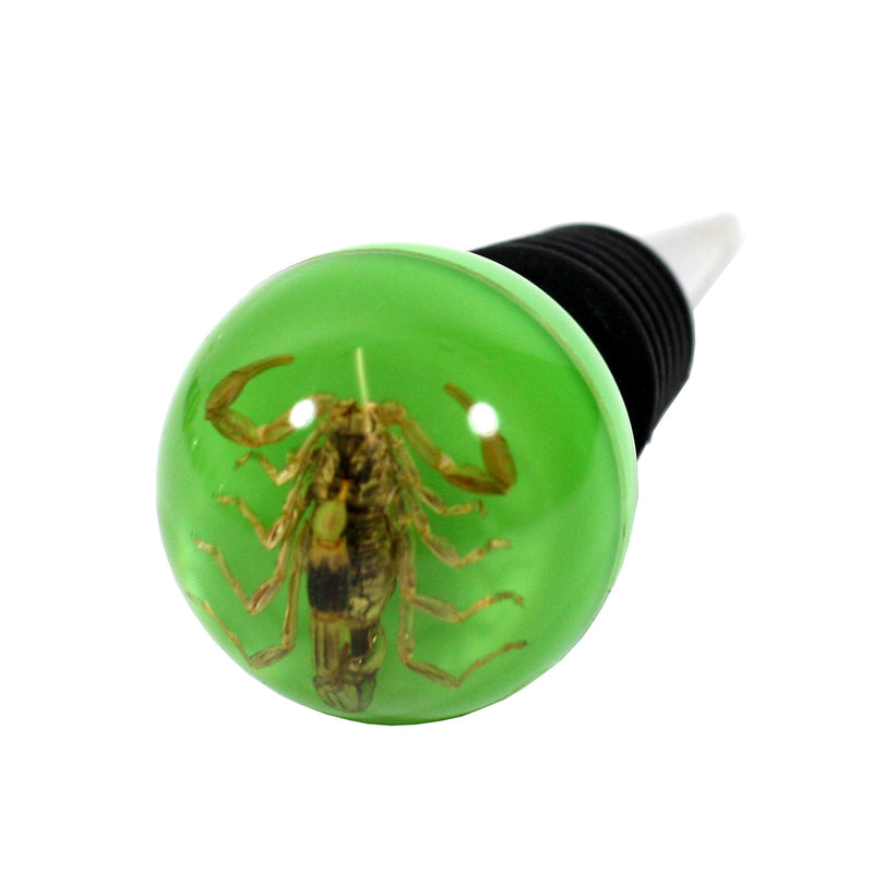 WS1404<br/>Golden Scorpion Wine Stopper