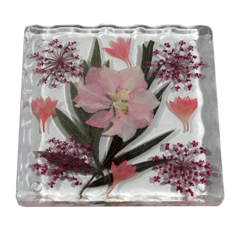 CT5033<br/>Pink Flower Coaster
