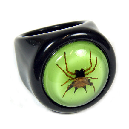 R0014<br/>Spiny Spider Ring