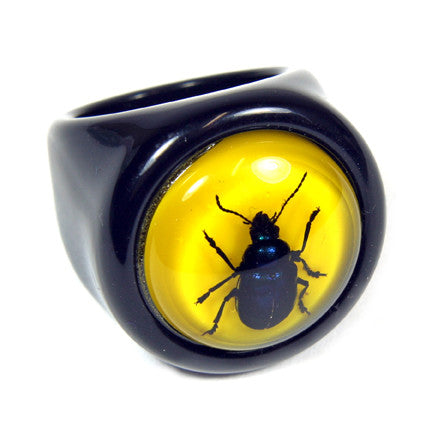 R0016<br/>Blue Beetle Ring