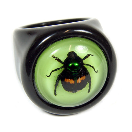 R0017<br/>Lucky Beetle Ring