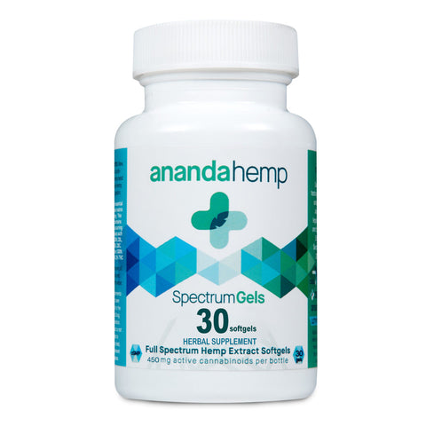 Ananda Full Spectrum Soft Gels - 30 Count (450mg)