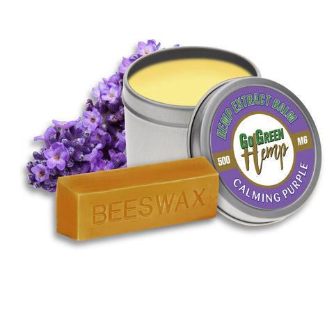 GoGreen Calming Purple CBD Salve