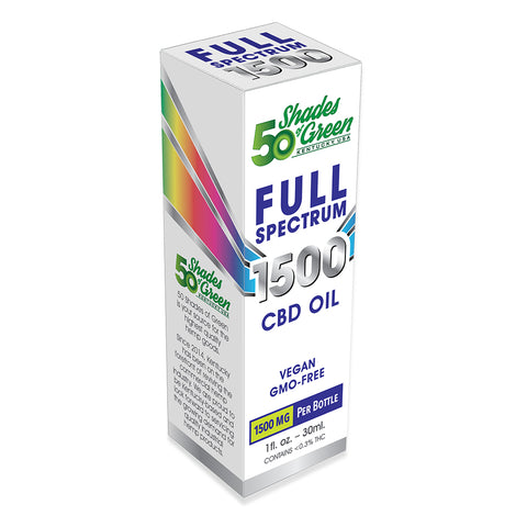 50 Shades Full Spectrum CBD Oil 1500mg