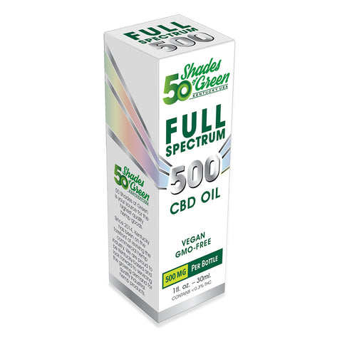 50 Shades Full Spectrum CBD Oil 500mg