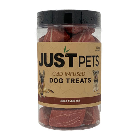 JustPets Dog Treats BBQ Kabobs