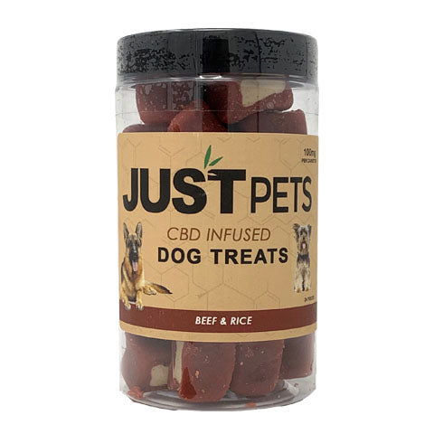 JustPets Dog Treats Beef & Rice