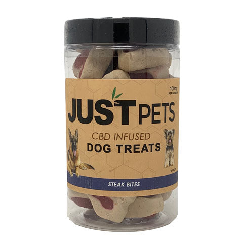 JustPets Dog Treats Steak Bites