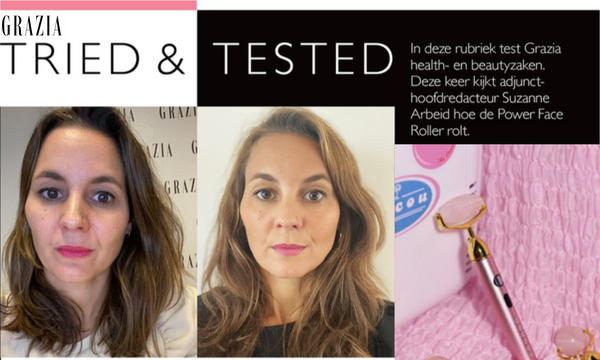Our Coucou Power Face Roller: Tested & Approved by Grazia!