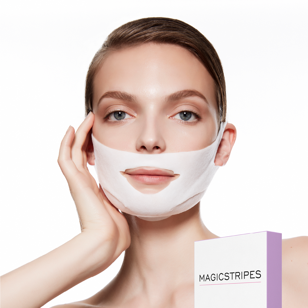Chin & Cheek Lifting Mask | reducing dark circles within minutes | Magicstripes | 4260393776333