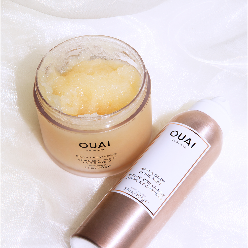 Scalp and Body Scrub | Exfoliate your scalp and body and get rid of dead skincells | Ouai | 815402024079