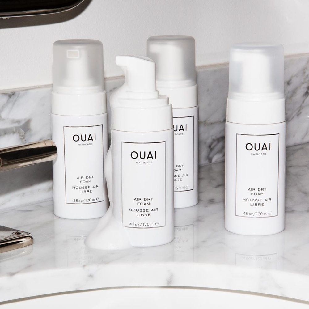 Air Dry Foam | If you don't have the time to blow-dry your hair | Ouai | 815402023133