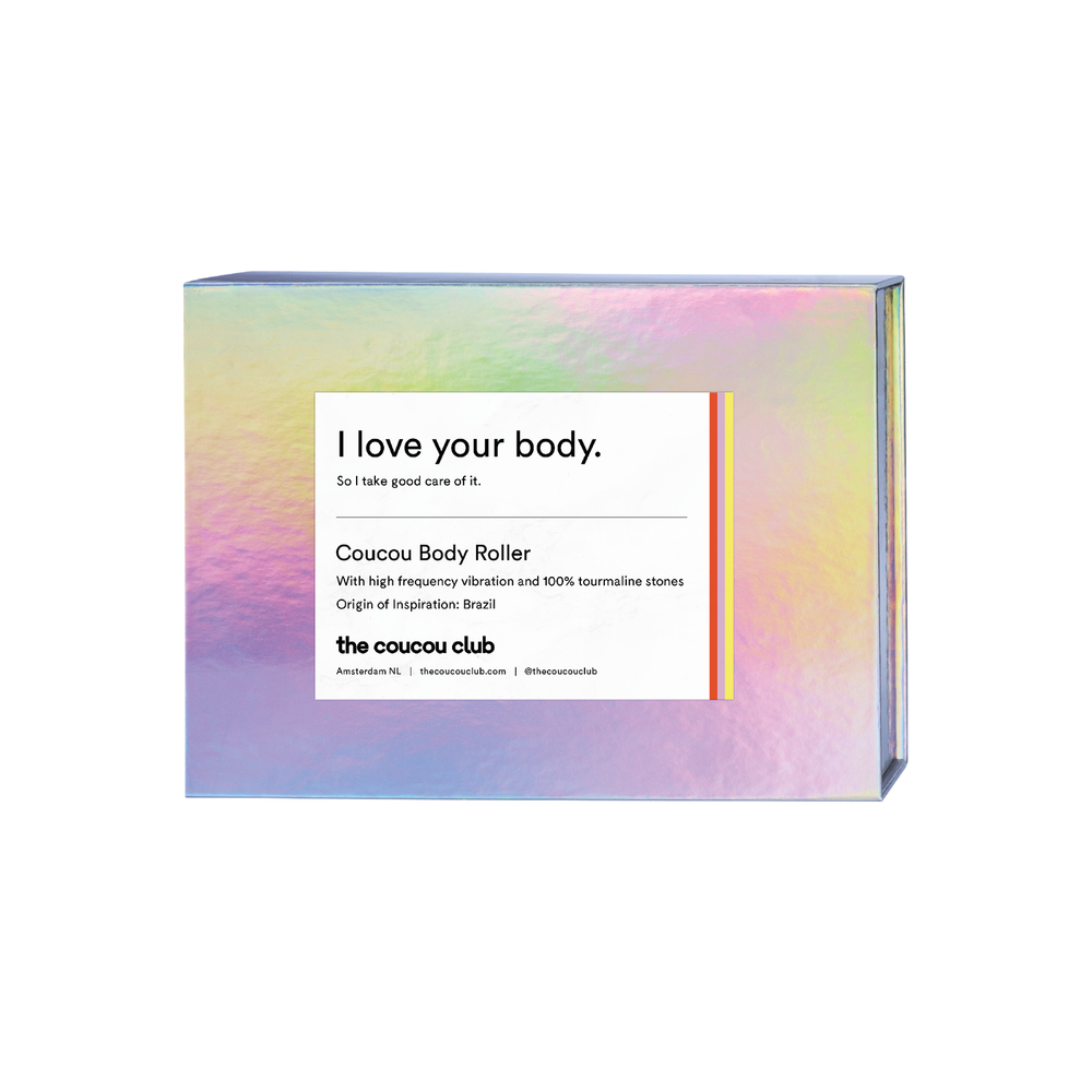 Coucou Body Roller | i love your body, so I take good care of it | The Coucou Club | 8719326353425