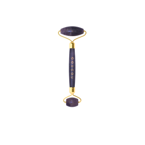 Coucou Amethyst Roller | Boost your skin, reduce wrinkles, stimulate blood circulation with the Jade Roller | The Coucou Club | 8719326353463