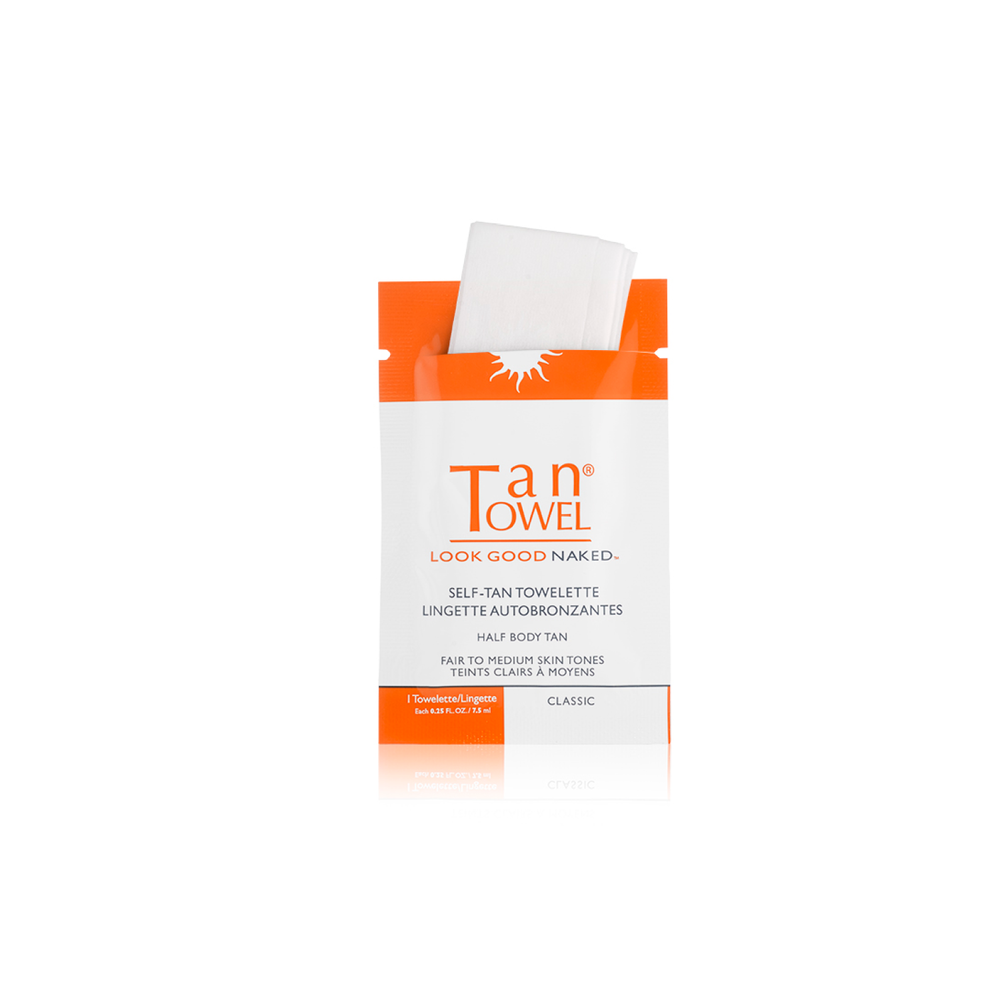 Self-Tan Towelettes Classic | A natural looking self tan for bronzed skin without harming the sun  | Tan Towel | 659711135596
