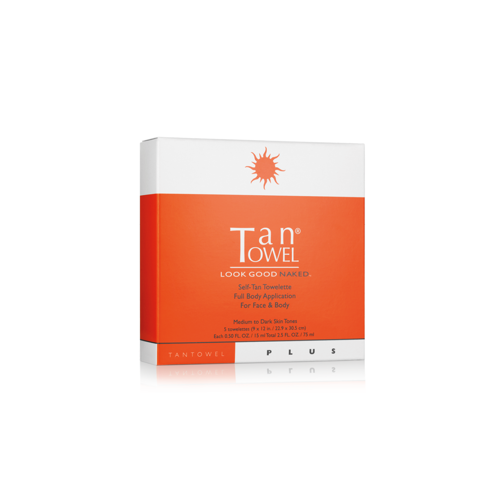 Self-Tan Towelettes Plus | A natural looking self tan for bronzed skin without harming the sun  | Tan Towel | 659711135565