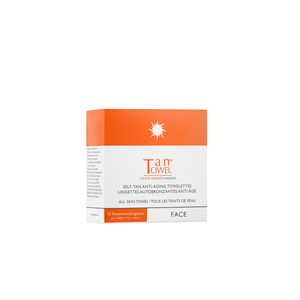 Self-Tan Anti-Aging Face Towelettes | A self tanning towel so you can leave your tanning addiction where it belongs - in 2008 | Tan Towel | 659711137699