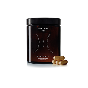 Debloat + | A supplement that helps with digestive issues and bloating | The Nue Co. | 5060506360508