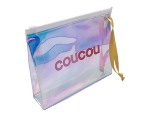 Coucou Holographic Pouch | Boost your skin, reduce wrinkles, stimulate blood circulation with the Jade Roller | The Coucou Club | 8719326353470