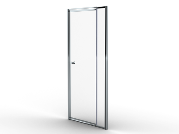 1000mm Telescopic pivot shower door shower enclosure - Didi Bathroomware