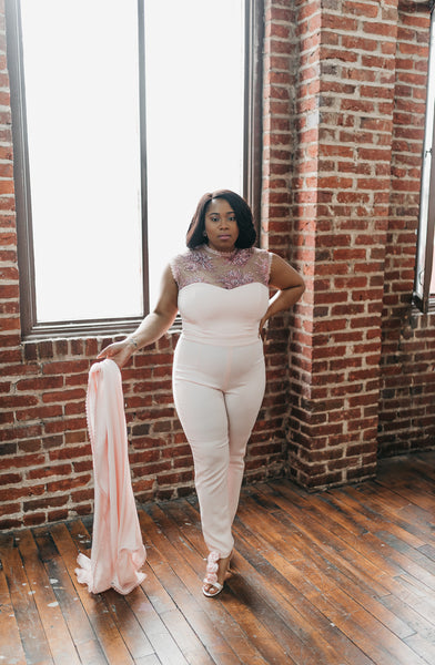 Camilla Bridal Jumpsuit (Try on at Home)