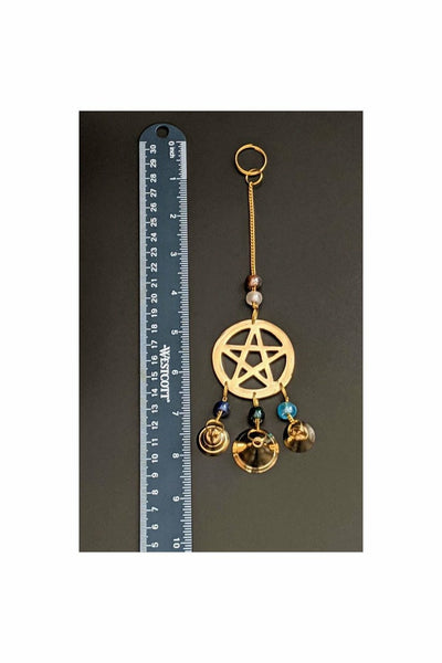 pentacle chimes set