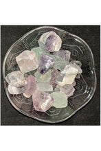 Raw Rainbow Fluorite Crystals - July's Moon