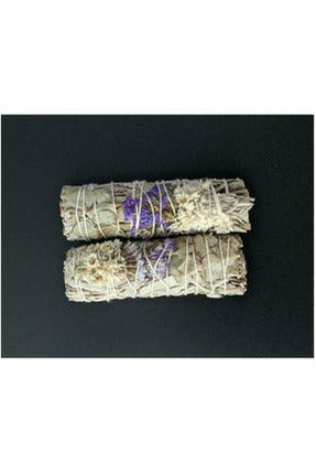 handmade Sage, lavender and Eucalyptus smudge sticks from julys moon