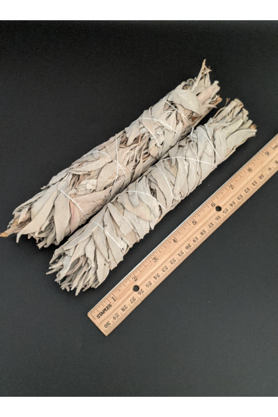 "Wholesale bundle of 25 Large 9"" White Sage Smudge Sticks"