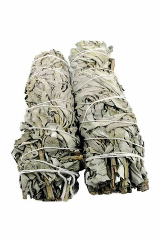 "Large 9"" California White Sage Smudge Sticks - Julys Moon Smudge Supplies"