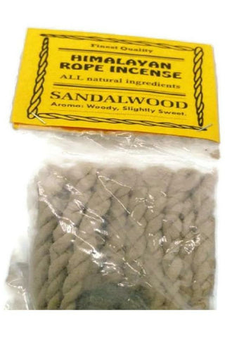 Sandalwood Himalayan Rope Incense