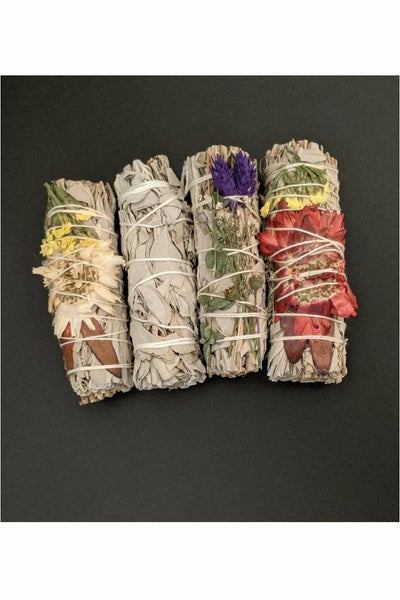 variety pack of smudge wands from julys moon