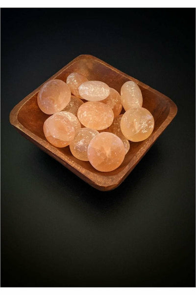 julys moon Orange selenite crystals