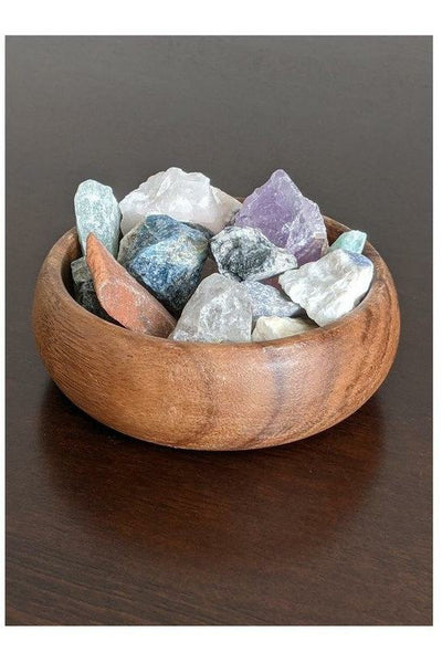 raw brazilian mixed crystals - julys moon