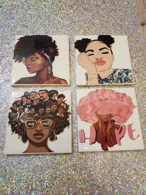 Personalize Coasters - JVN Creations & Designs