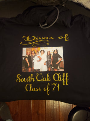 Customized Adult T-Shirt Sizes 2XL-4XL - JVN Creations & Designs