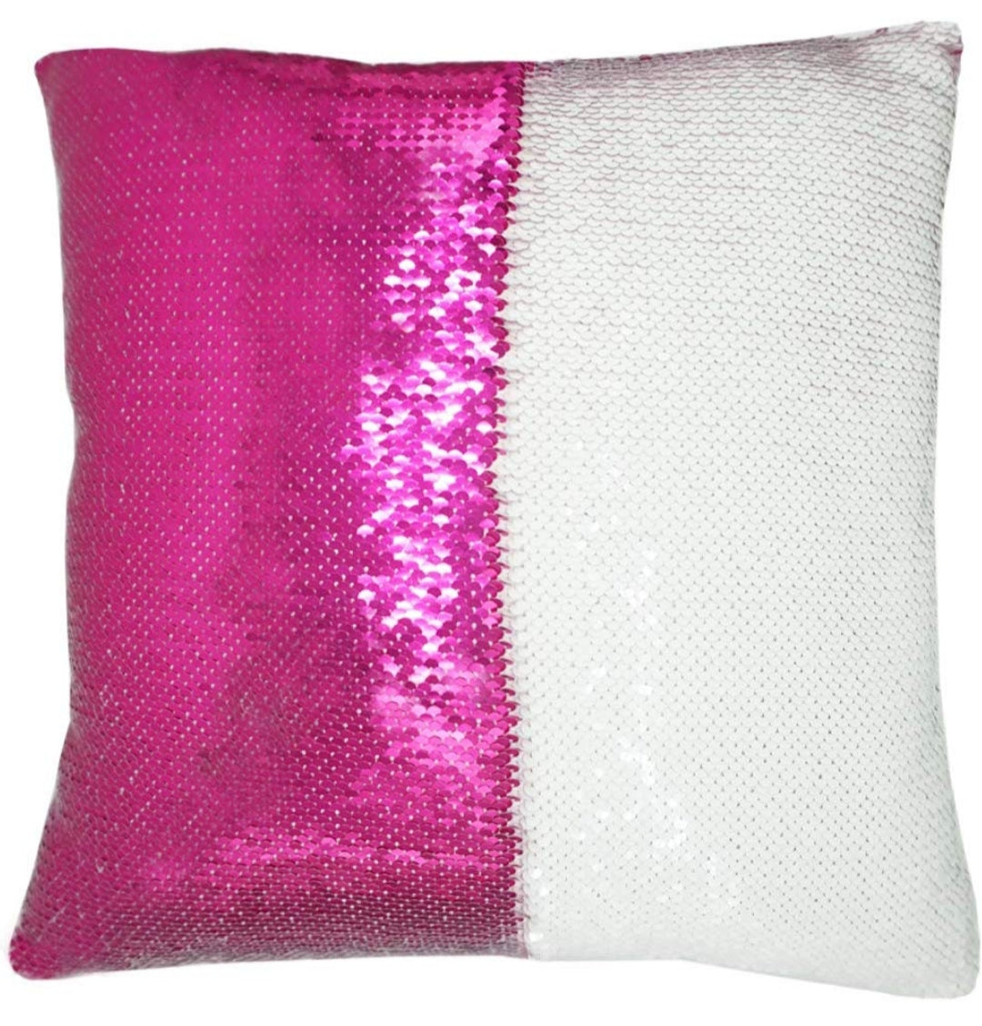 Personalize 15x15 Sequin Pillow