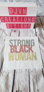 Strong Black Woman Rhinestone Transfer Sheet - JVN Creations & Designs