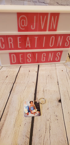 2-Sided Square Keychain - JVN Creations & Designs