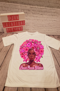 Breast Cancer Warrior - JVN Creations & Designs