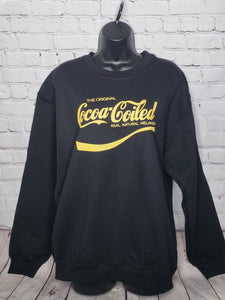 Cocoa-Coiled Sweatshirt- Medium Unisex