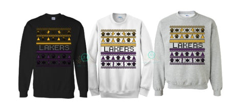Lakers Ugly Christmas