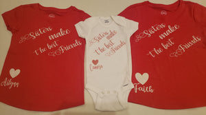 Kids customized shirts 2T-YXL - JVN Creations & Designs