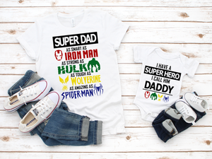 Super Hero Dad - JVN Creations & Designs
