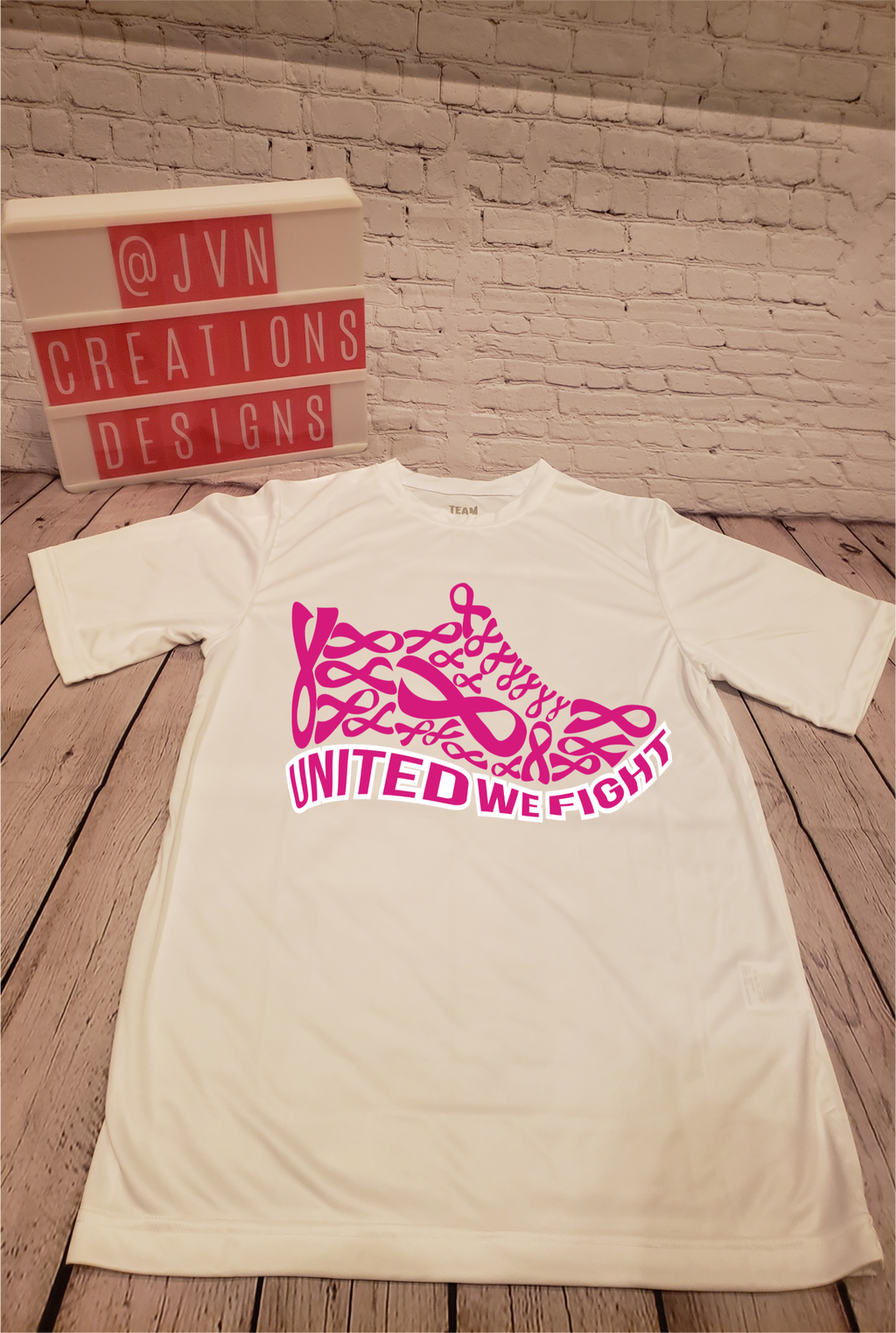 Breast Cancer Shoe - JVN Creations & Designs