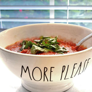 Recipe to Smile About: Tomato Basil Soup