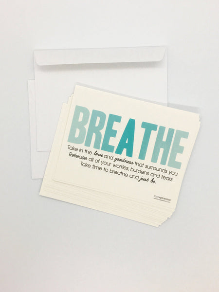 Breathe Postcard