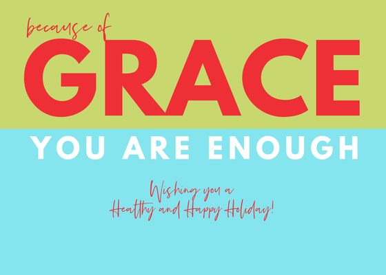 Foodspirations Holiday Card 2019: Simply Grace